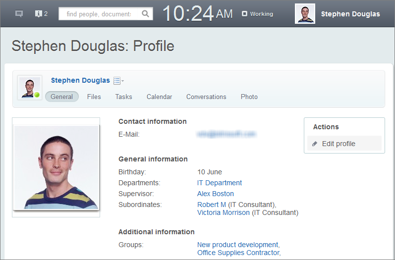 Employee profile form template flashek Choice Image
